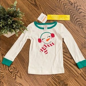 NWT Gymboree Long Sleeve Snowman Sleep Shirt